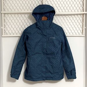 COLUMBIA Omni-Heat Interchange 2-in-1 Jacket Blue